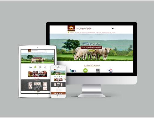 Un nouveau site web pour Castel Viandes