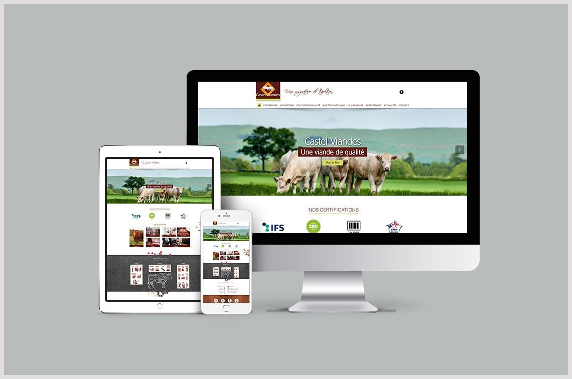 Castel Viandes Un Nouveau Site Web Pour Castel Viandes