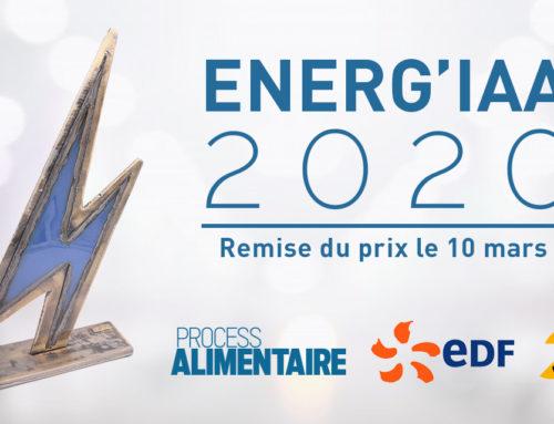 Castel Viandes, lauréat du prix Energ'IAA 2020
